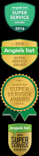 My Tire Guys Angie's List Super Service Award Winner 13, 14, 15 & 16.