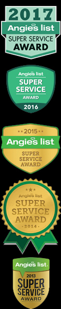 My Tire Guys Angie's List Super Service Award Winner 13, 14, 15, 16 & 17.
